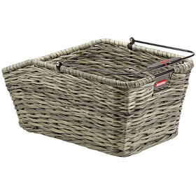 KlickFix Structura GT Bike Basket Basket clip brown